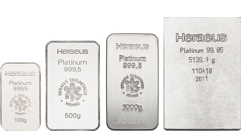 Save on platinum bars